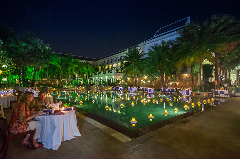 Lotus Blanc Resort - Dining Arrangement