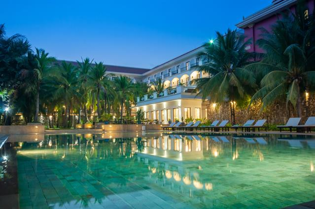 Lotus Blanc Resort, luxry hotel in siem reap