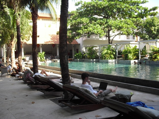 Pool at Phnom Penh
