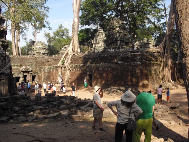 Taprom Temple in Siem Reap Cambodia