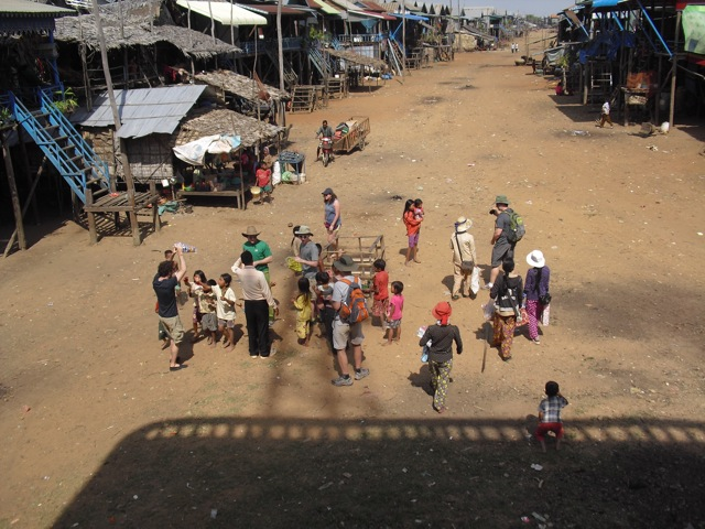 Villagers in Siem Reap