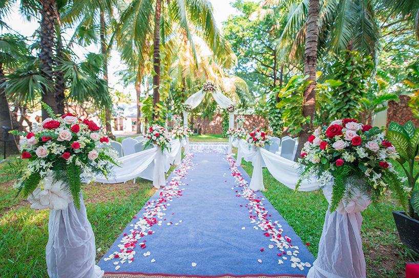 Wedding at Lotus Blanc Resort