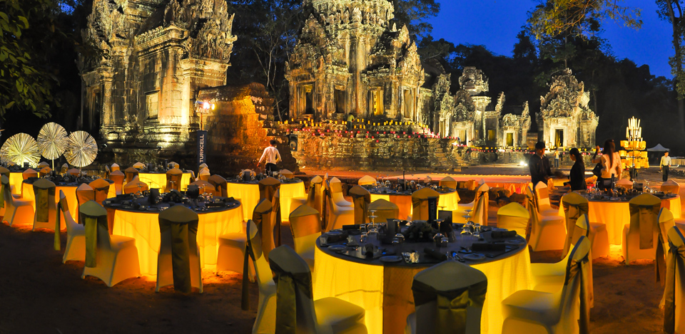 Temple Dining In Siem Reap