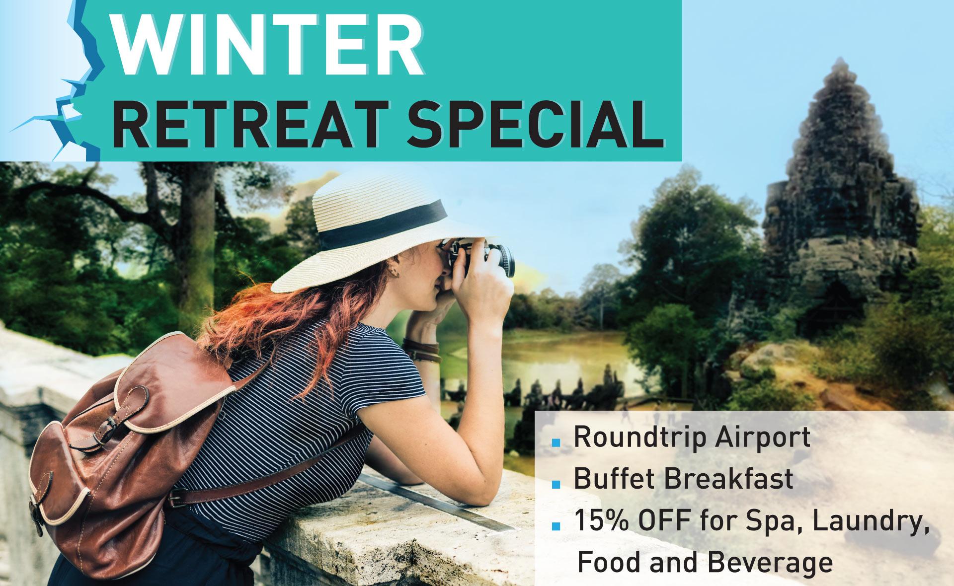 Winter Retreat Special