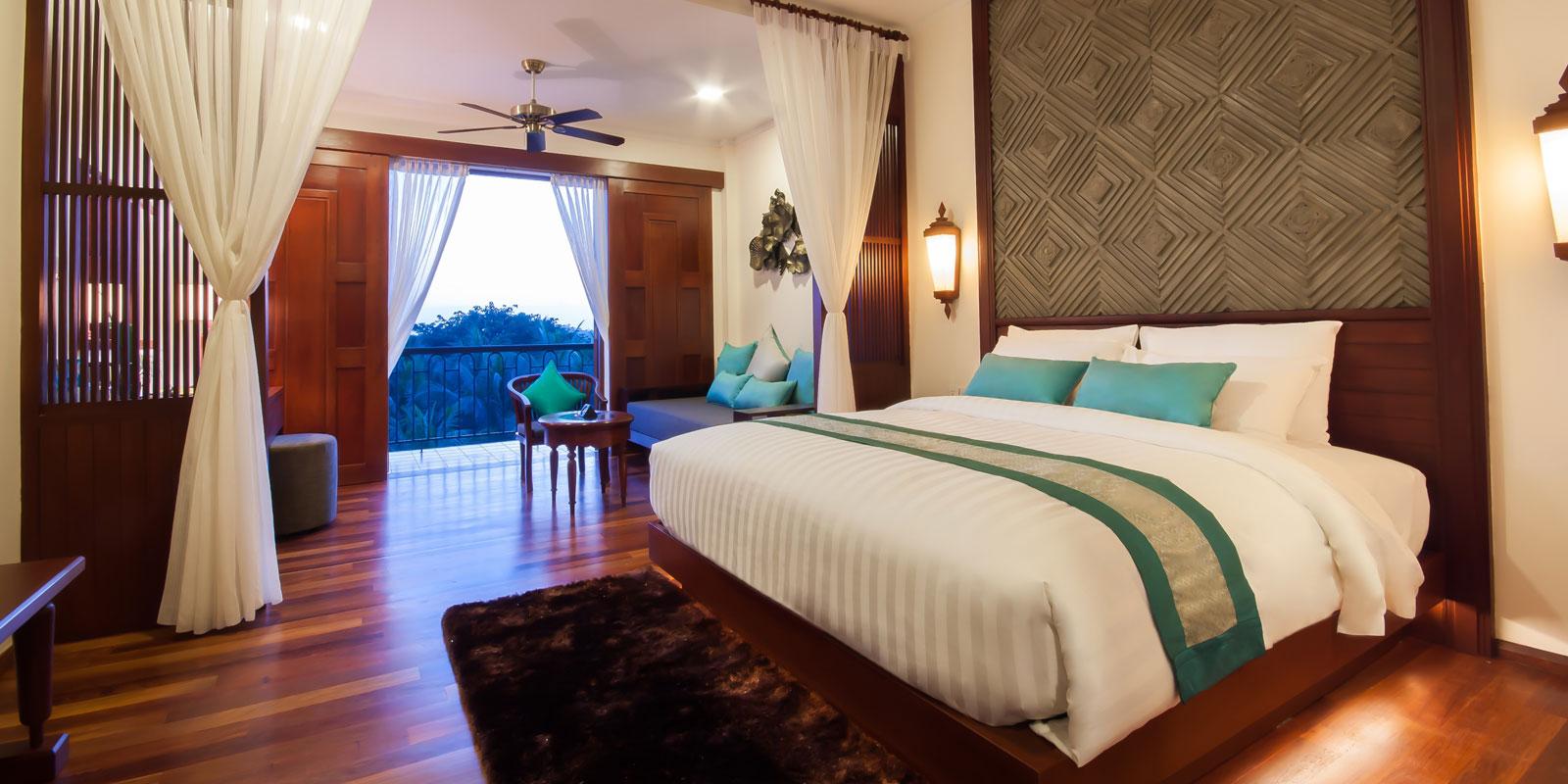 Landmark Double with Balcany at Lotus Blanc Resort