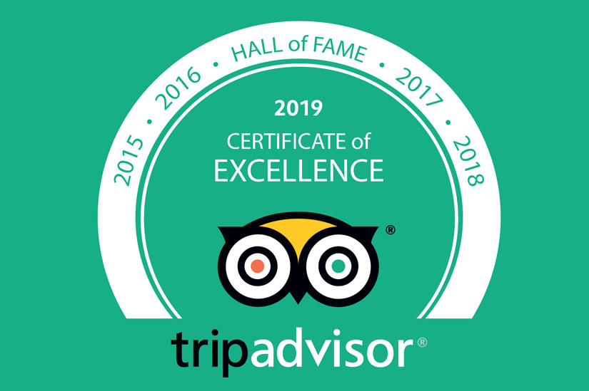 Lotus Blanc Resort Honors the 2019 Hall of Fame from Tripadvisor
