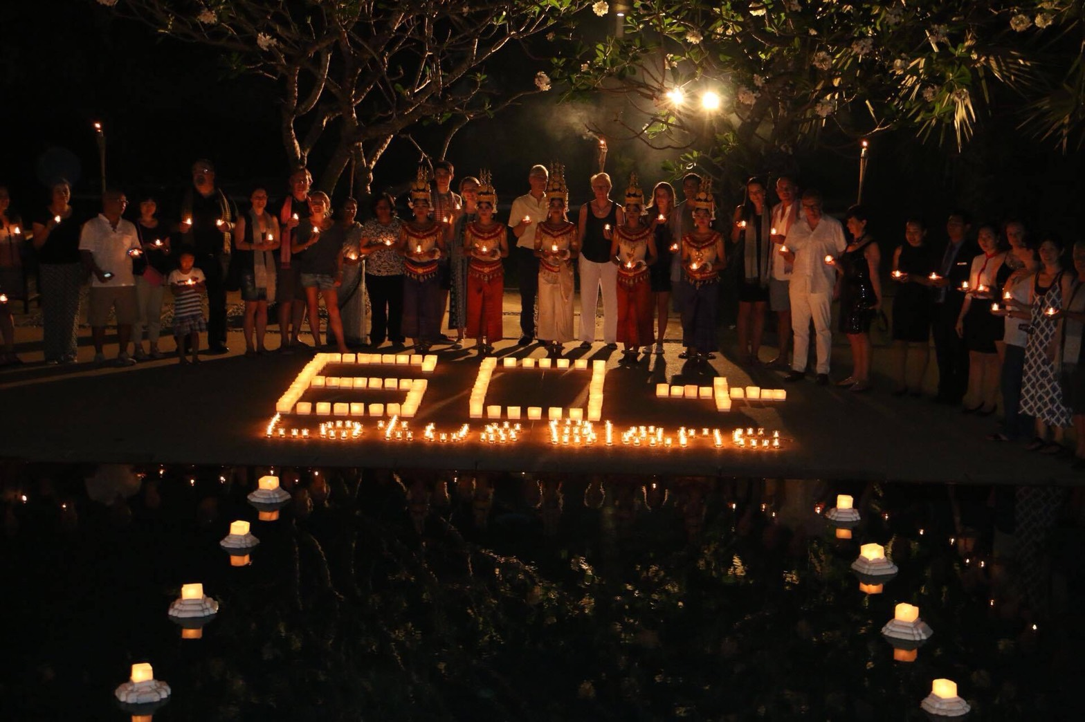 Celebrate Earth Hour 2018 with A Candlelit Dinner at Lotus Blanc Hotel & Resort, Siem Reap