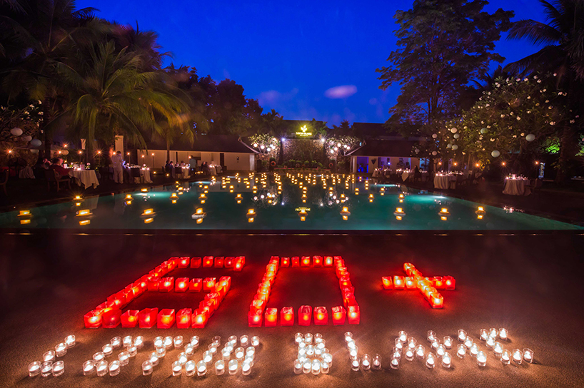 Lotus Blanc Hotel & Resort Embraces EARTH HOUR with a Marvelous Candlelit Dinner in Siem Reap